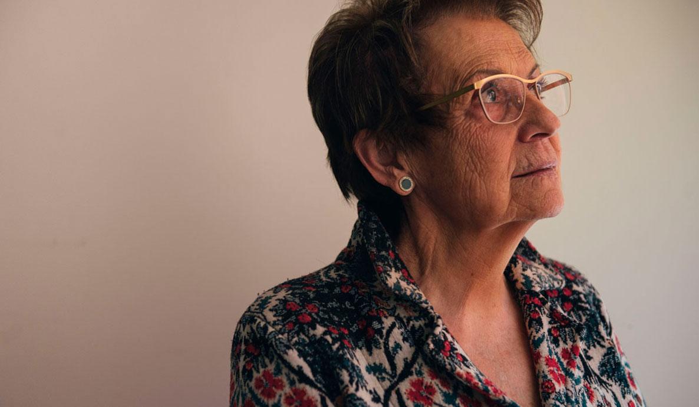 Rosa María, responsable de los voluntarios del centro Fogaral en Zaragoza